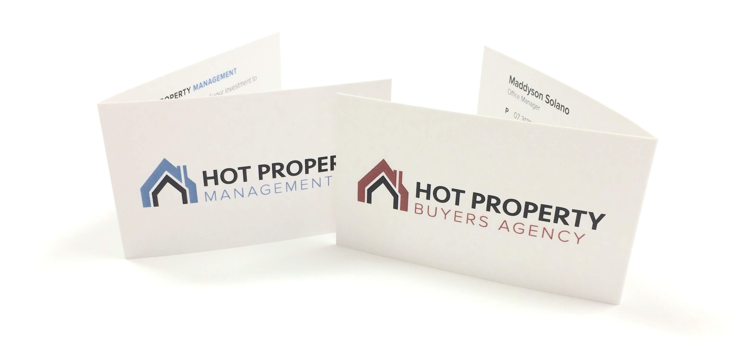 Hot Property Business Cards