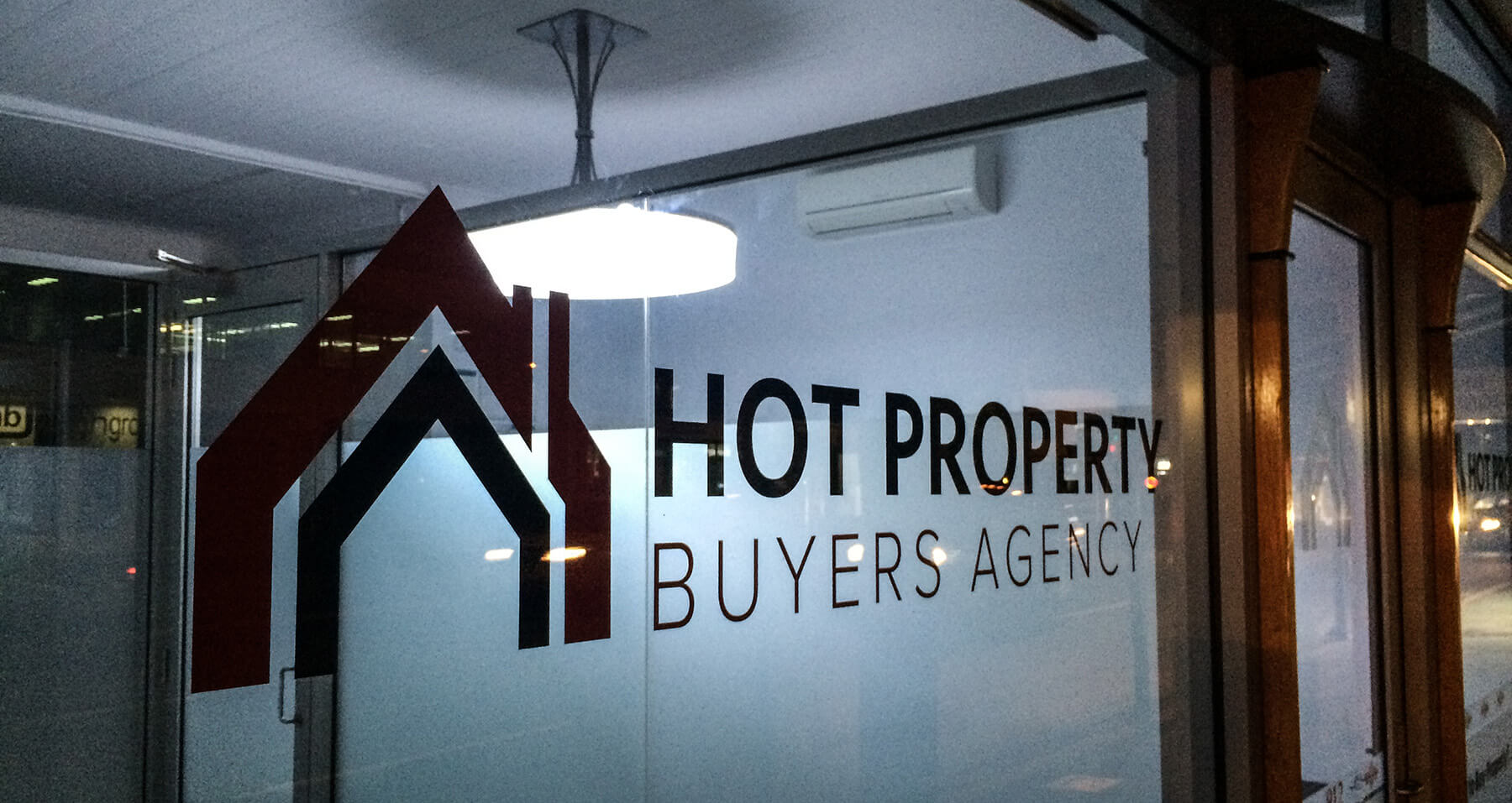 Hot Property Signage