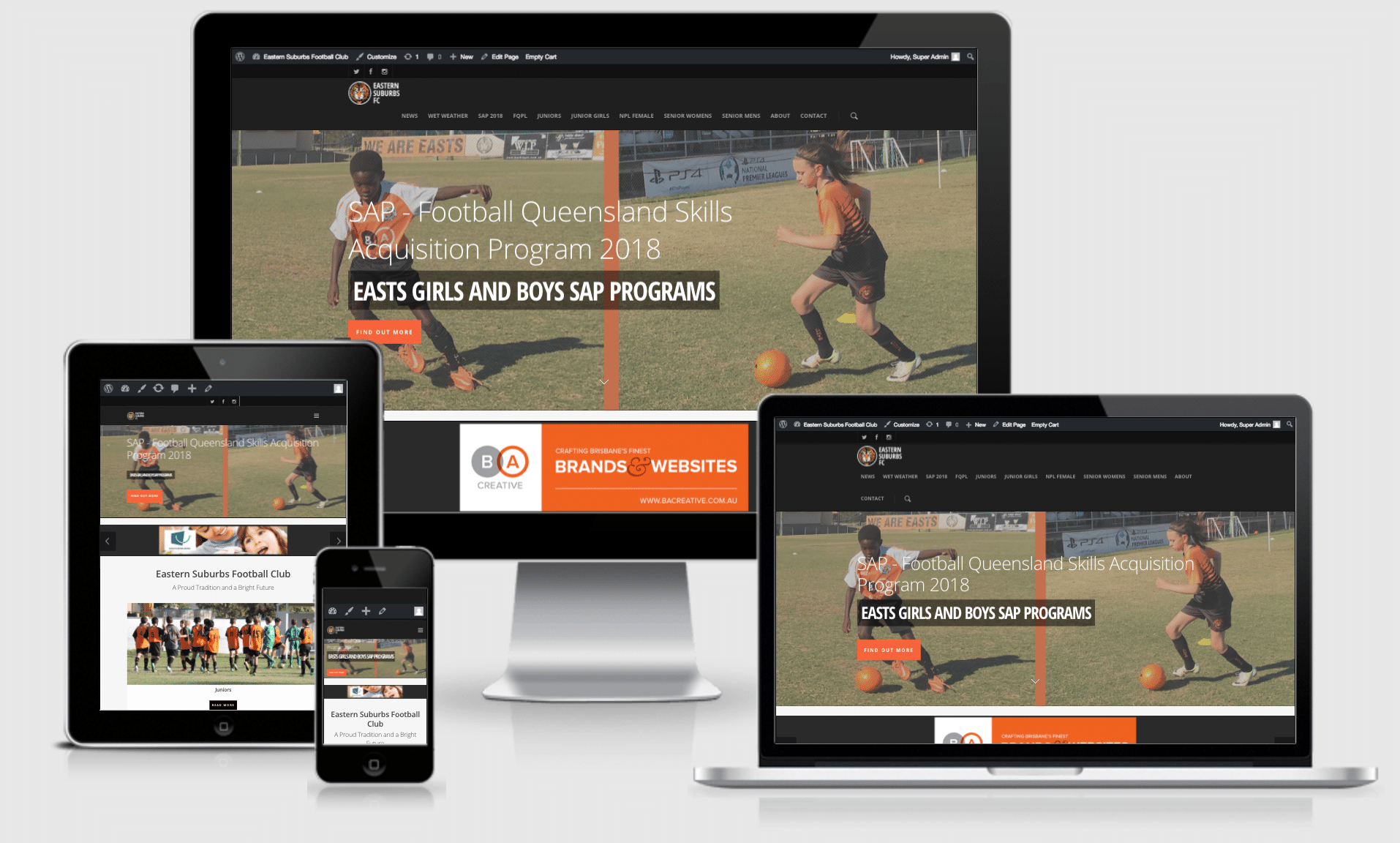 Eastern Suburbs FC Website