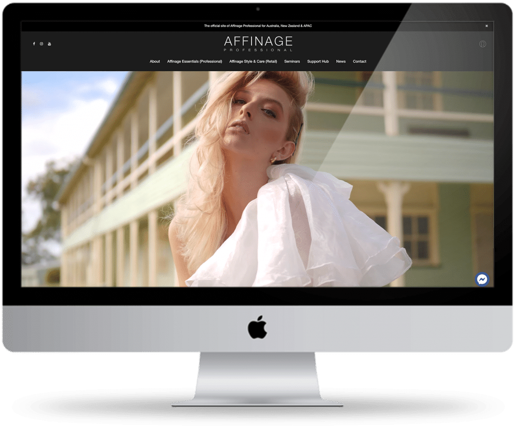 Affinage Professional website