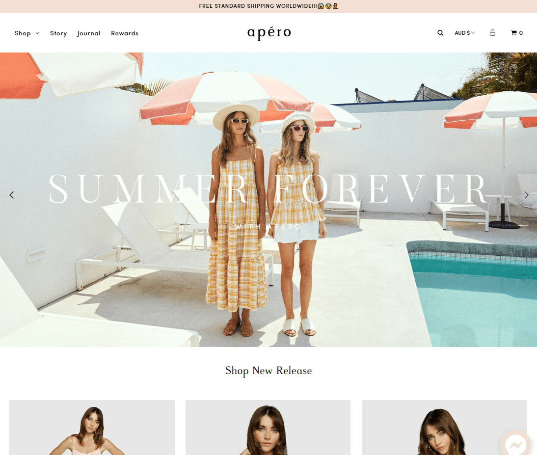 apero label website