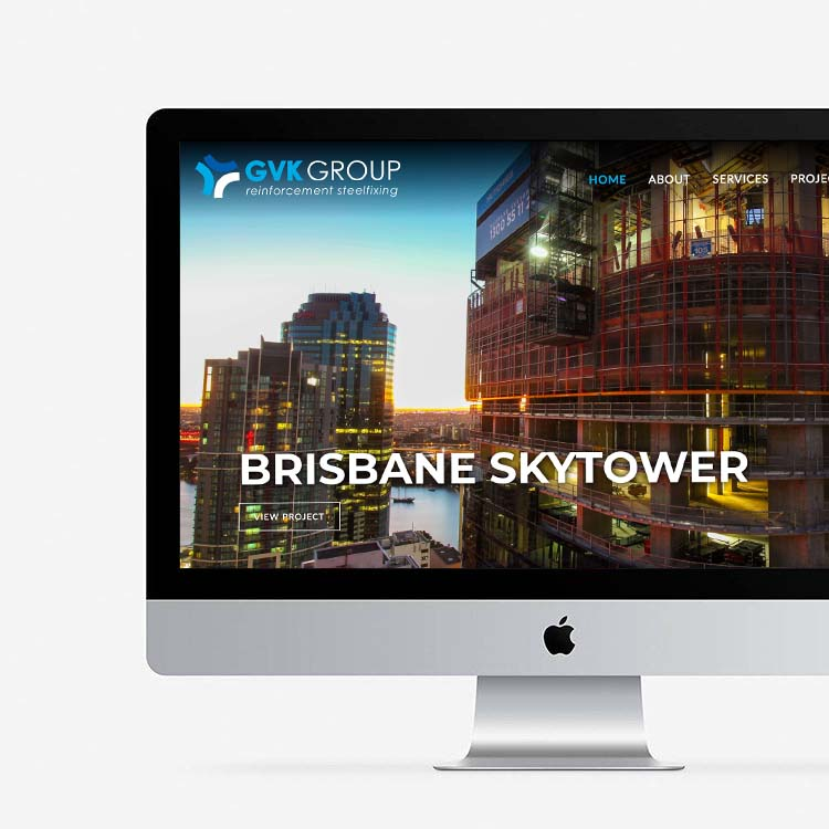 NEW PROJECT: GVK Group Website