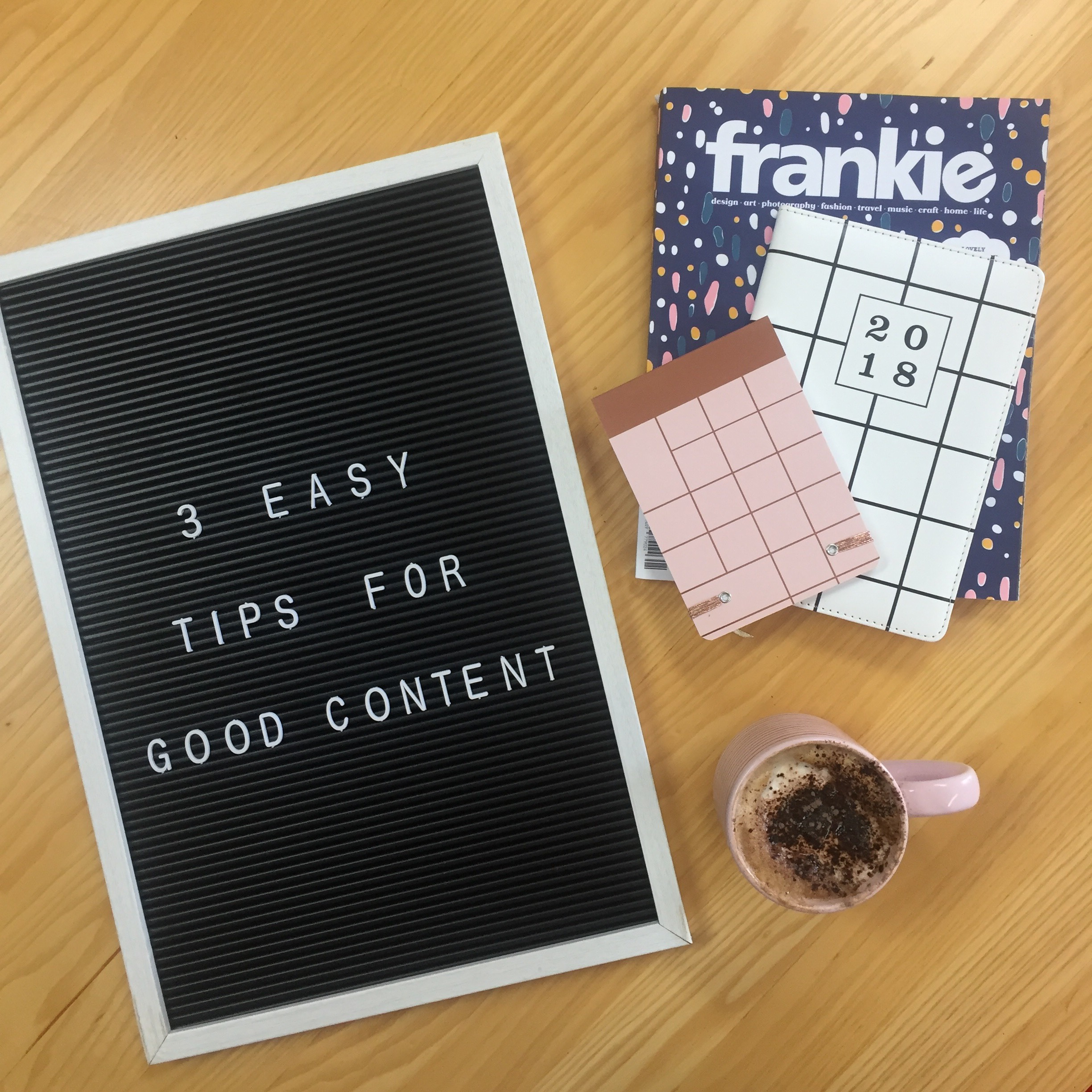 3 Easy Tips for Good Content