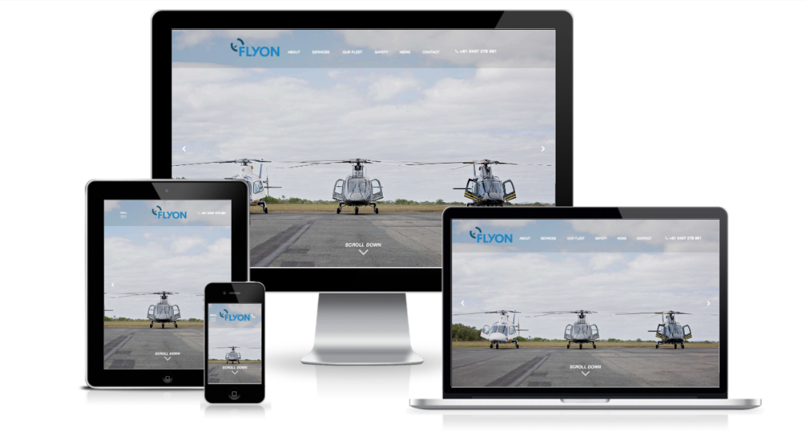 New Website: Flyon