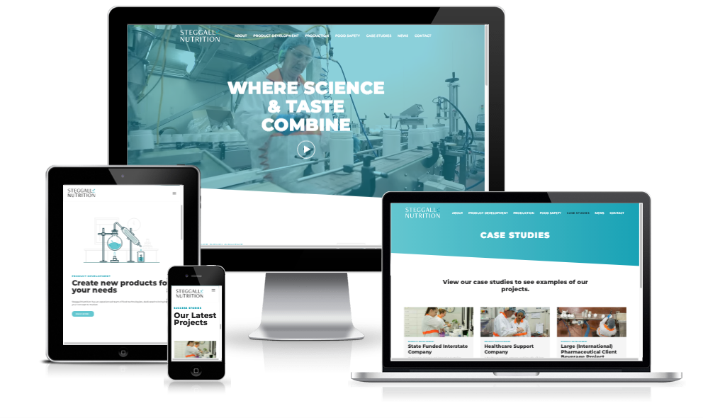 New website: Steggall Nutrition